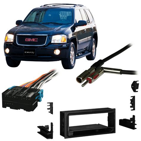 gmc envoy aftermarket parts fits gmc envoy 1998 2001 single din aftermarket harness