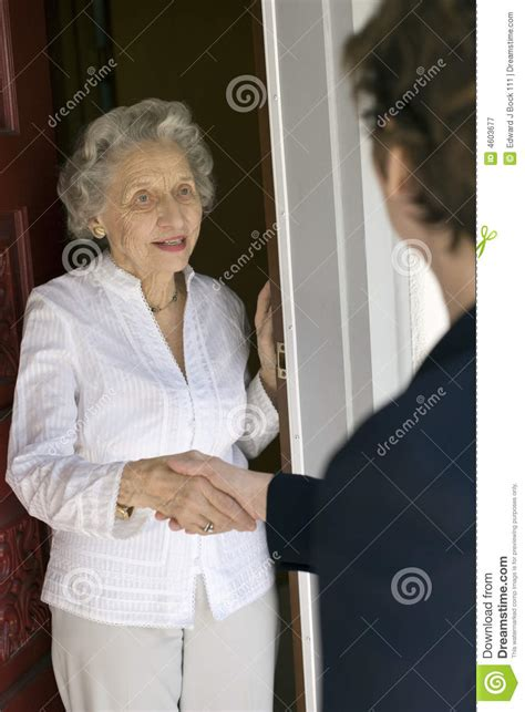 front door greeting royalty  stock photography image