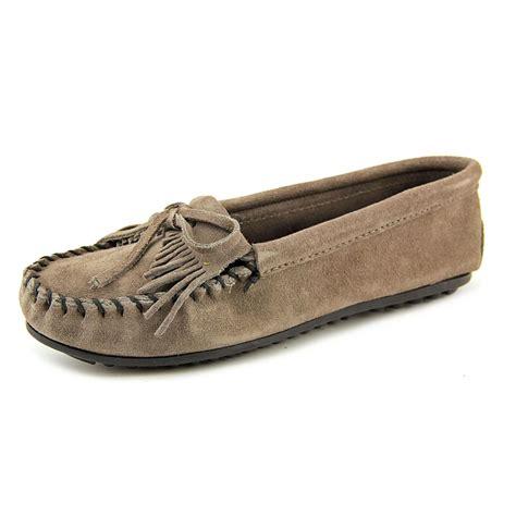 minnetonka shoes minnetonka kilty moc suede moccasins shoes ebay