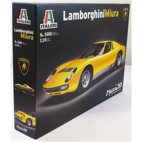 Lamborghini Model Kits Italeri 1 24 3686 Lamborghini Miura Model Car Kit