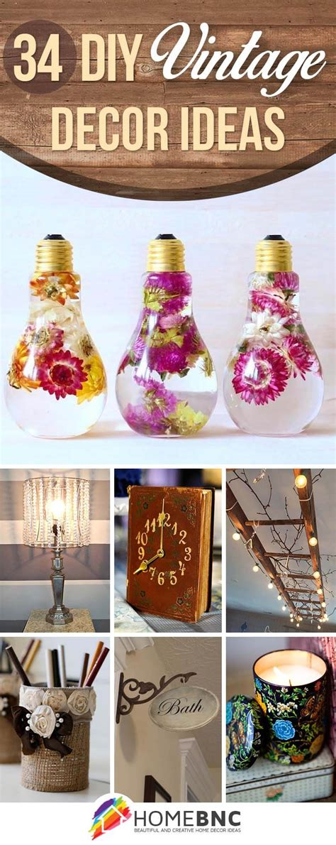 diy vintage home decor 34 best diy vintage decor ideas and projects for 2017