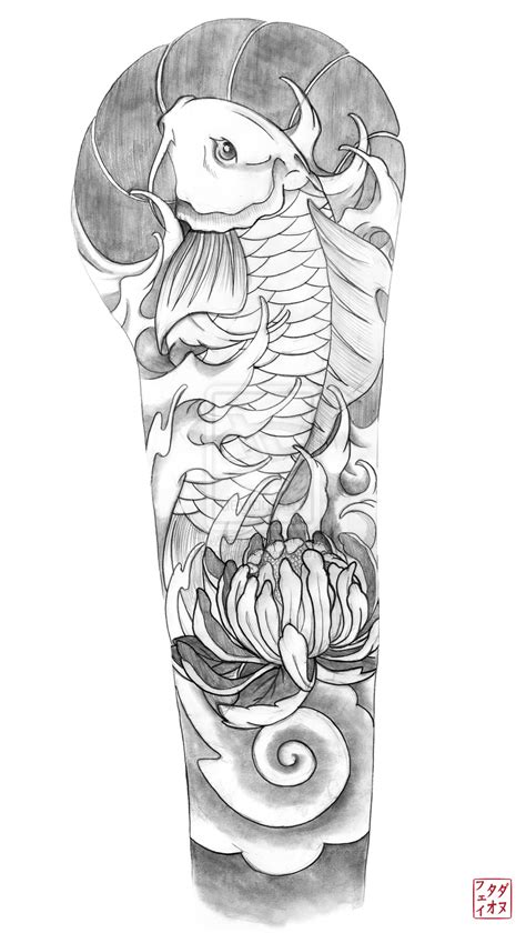 tattoo sleeve drawings for men forearm pencil and in color
