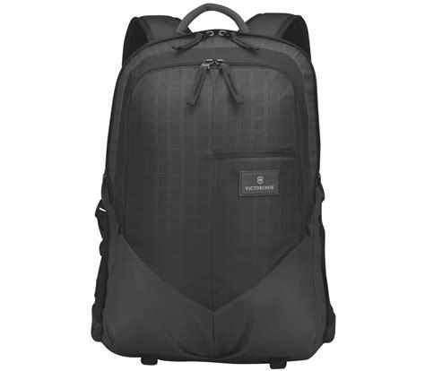 victorinox black victorinox deluxe laptop backpack in black 32388001