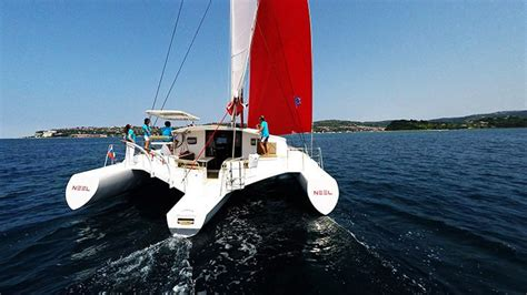 trimaran pros and cons trimaran vs catamaran are they so different cruising sea