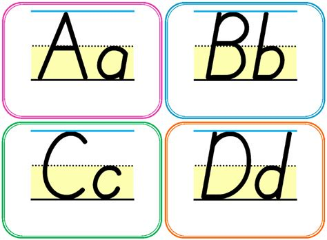 printable alphabet for classroom testy yet trying homeschool and teacher resource
