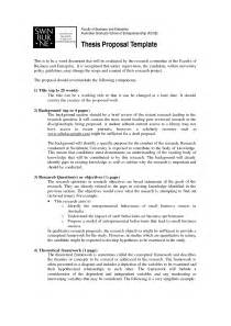 Dissertation Proposal Popular University Dissertation Proposal Example