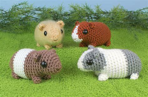 pattern crochet guinea pig baby guinea pigs four amigurumi crochet patterns