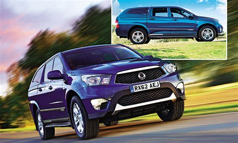 boat big enough to live on ssangyong korando sports ex review a boot big enough to