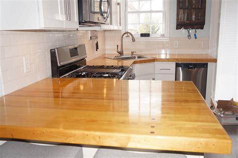 kitchen countertops project journals wood talk