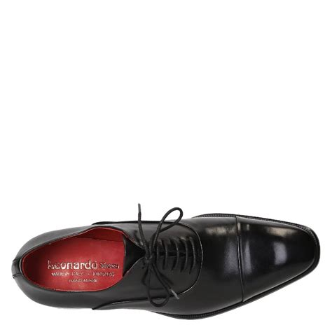Handmade Shoesdark Blue Oxford Shoes - s oxfords cap toe shoes in black color leather