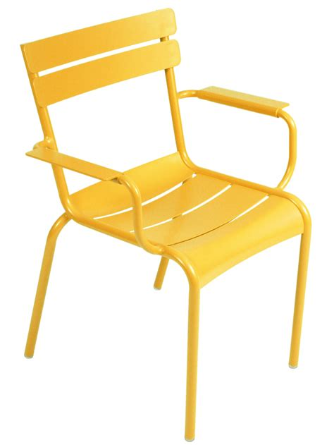 stackable armchairs luxembourg stackable armchair honey by fermob