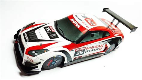 Nissan Papercraft - nissan gt r nismo gt3 paper car free vehicle paper model