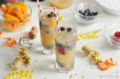 new year menu ideas 2014 new year s chagne punch the chic site