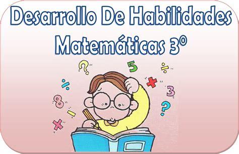 imagenes de habilidades matematicas cuadernillo de desarrollo de habilidades matem 225 ticas de