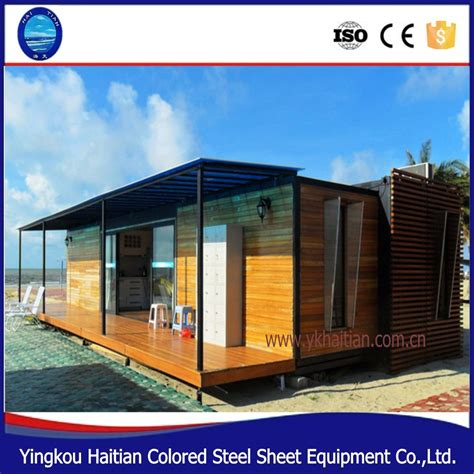 holz bungalow china vorgefertigten modernen holz bungalow haus