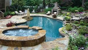 Backyard Pools Spas Outdoor Spas Small Pools Atlanta Home Improvement