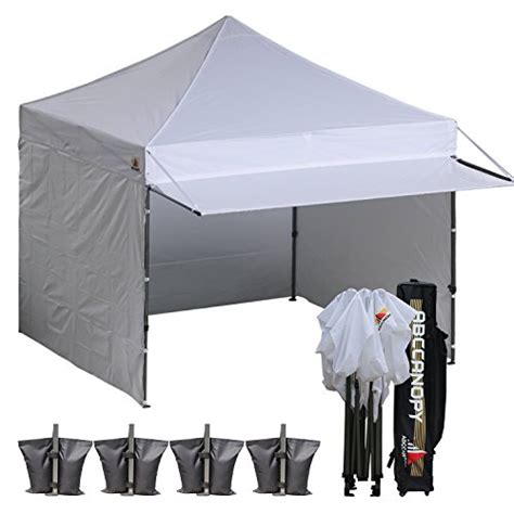 Canopy With Awning by 10 215 10 Abccanopy Easy Pop Up Canopy Tent Instant Shelter