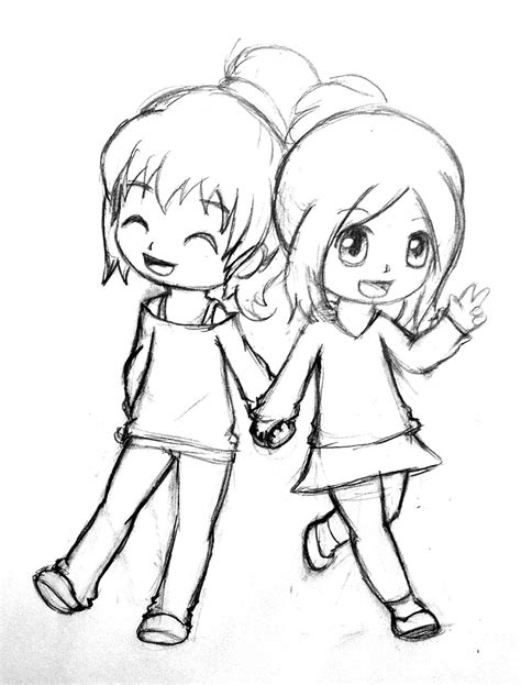 Girl Bff Drawing Pics Coloring Page Best Friend Drawing Drawings Guy And Girl Tumblr 3 Drawings For Coloring