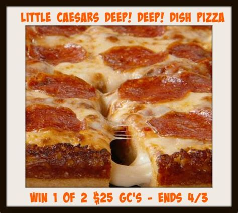 Little Caesars Gift Card - little caesars even cheesier giveaway it s free at last
