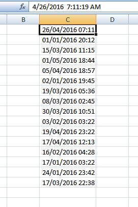 excel converting american dates with time stamp stack