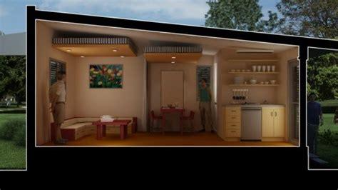 nano house nano rescue house provides flexible emergency housing