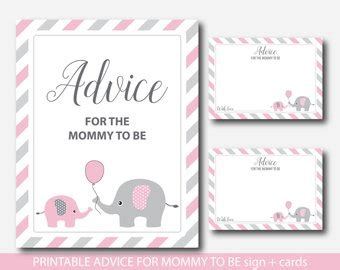 new advice cards template new advice card etsy