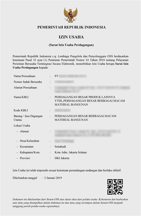 PT DASA KEKAR JAYA IZN - IZIN.co.id Business News