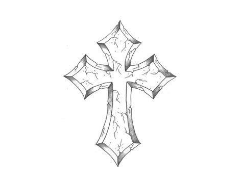 cross tattoo drawing cross drawings drawing pencil