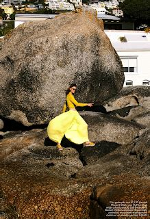 """duchess dior: """"have you ever been...yellow?"""" glamour"""