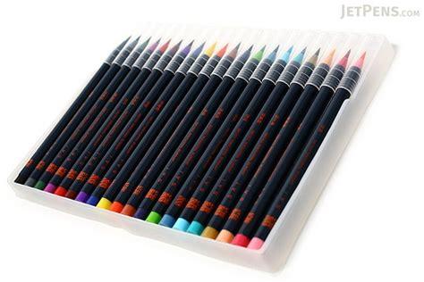 Water Color Pen Set akashiya sai watercolor brush pen 20 color set jetpens