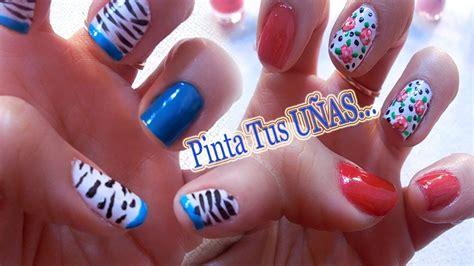fotos de uñas decoradas youtube pinta tus u 209 as dos dise 241 os de u 241 as para primavera 2014