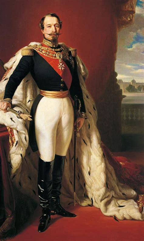 Home Decor France by Portrait Of Napoleon Iii Louis Napoleon Bonaparte Painting