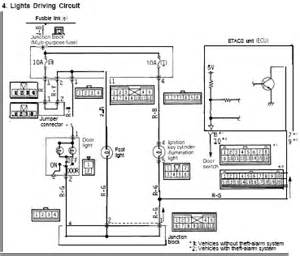 1991 mitsubishi 3000gt gto electrical system wiring