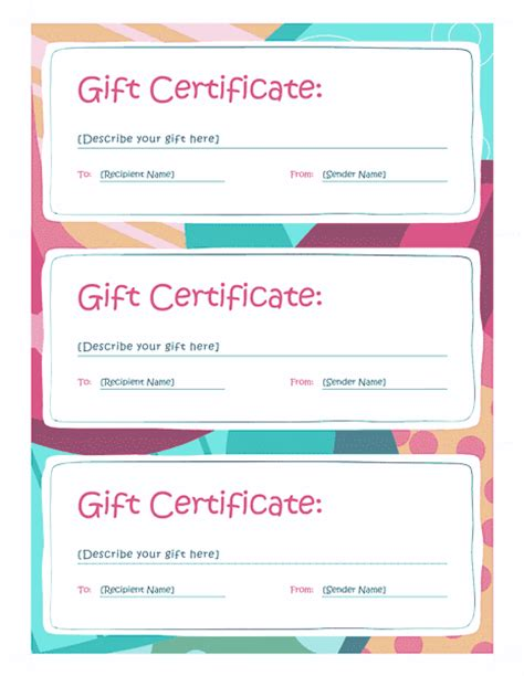 microsoft office templates for word gift certificate gift certificate template word 2013 free certificate