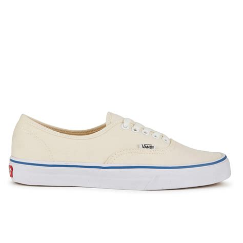 Vans Authentic Icc White vans authentic canvas trainers white clothing zavvi