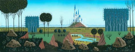 Disney Princess Castle Wall Mural eyvind earle artistic devotion amp distinction in sleeping