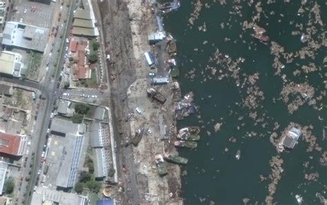 imagenes google earth terremoto chile publican im 225 genes satelitales que muestran el paso del