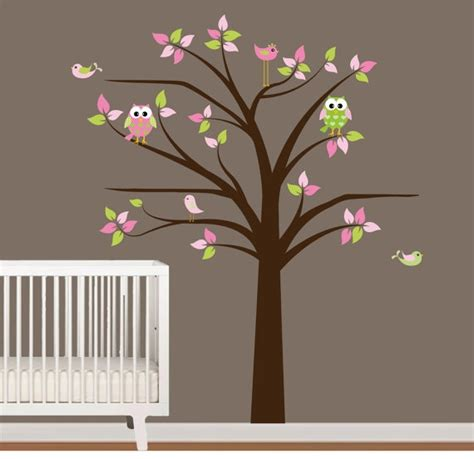 Vinyl Tree Wall Decals For Nursery 17 Best Images About Wall Decals On Pinterest Trees Owl Bird And Cherry Blossom Tree