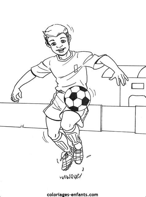 Coloriage 195 Dessiner Footballeur Imprimer