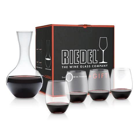 Riedel O Decanter riedel o cabernet merlot 4pc set with decanter