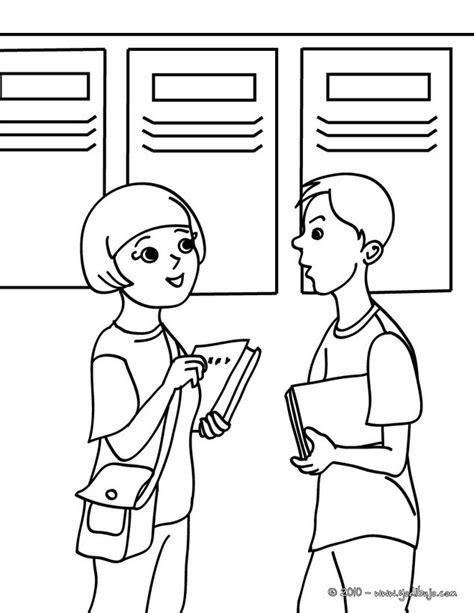 personas conversando para colorear dibujos para colorear alumnos hablando es hellokids com