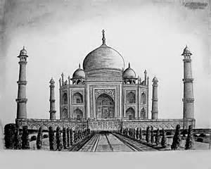 taj mahal agra india shwetabh arts drawings