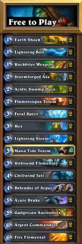 reynad shaman deck hearthstone what are the best decks for beginners arqade