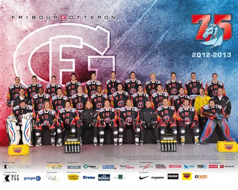 Calendrier Gotteron Goodies Hc Fribourg Gott 233