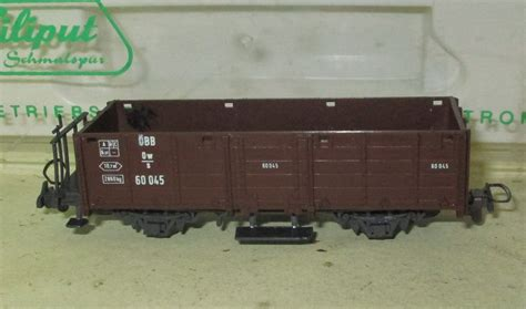 Lexos Ep 940 H liliput h0e 940 214 bb offener g 252 terwagen ow m bremserb 252 hne ep 3 i ovp nordbahn an verkauf