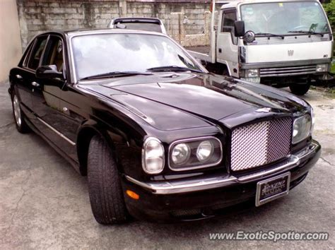 bentley philippines bentley arnage spotted in manila philippines on 11 12 2003