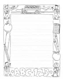 Free Writing Paper With Borders Writing Paper With Picture Frame