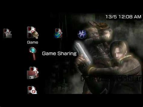 Theme Psp Resident Evil 4 | psp theme resident evil 4 2 psp themes net youtube