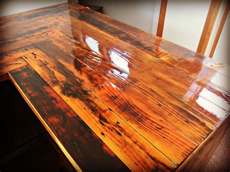 Pallet Bar Top by Kitchen Countertop Made With Reclaimed Pallet Wood