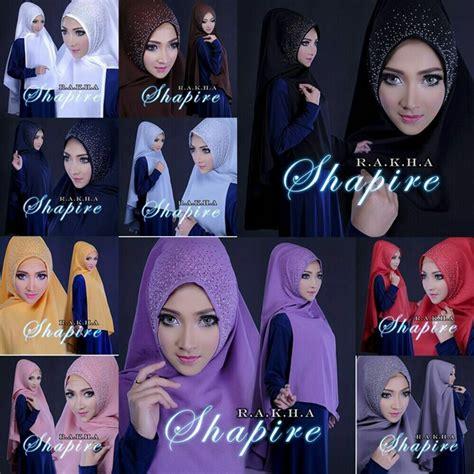 Shapire Khimar jilbab syar i khimar shapire model jilbab terbaru 2018
